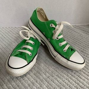 Converse All Star Low Top Sneakers Bright Green